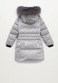 Mango - Abrigo de invierno - silber - 1