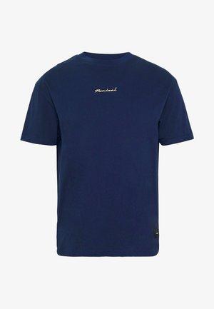 REAL TEE - Basic T-shirt - navy