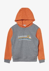 Quiksilver - PAIPO CITY HOOD YOUTH - Hoodie - apricot buff heather - 3