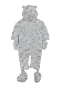 mothercare - BABY FLUFFY SNOWSUIT - Snowsuit - grey - 1