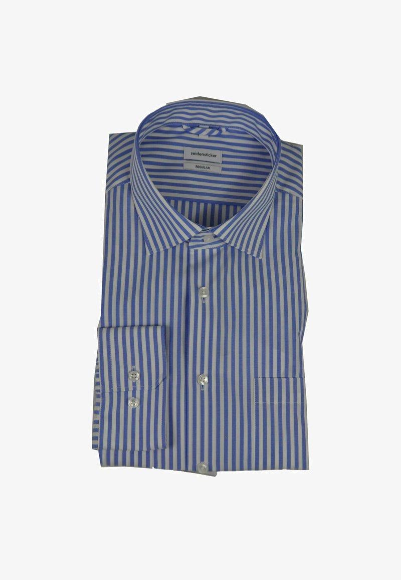 Seidensticker - Formal shirt - weiß/blau