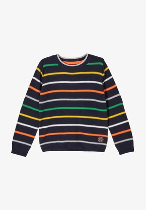 Jumper - navy stripes
