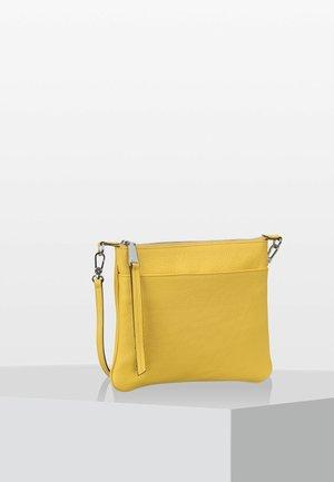 CALF ADRIA  - Across body bag - yellow