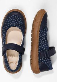 Clarks - FLASH STRIDE - Touch-strap shoes - dark blue - 1