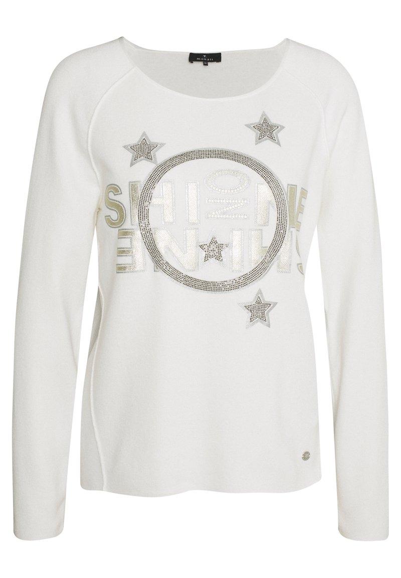Monari - Sweatshirt - off white