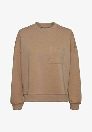 Sweatshirt - praline