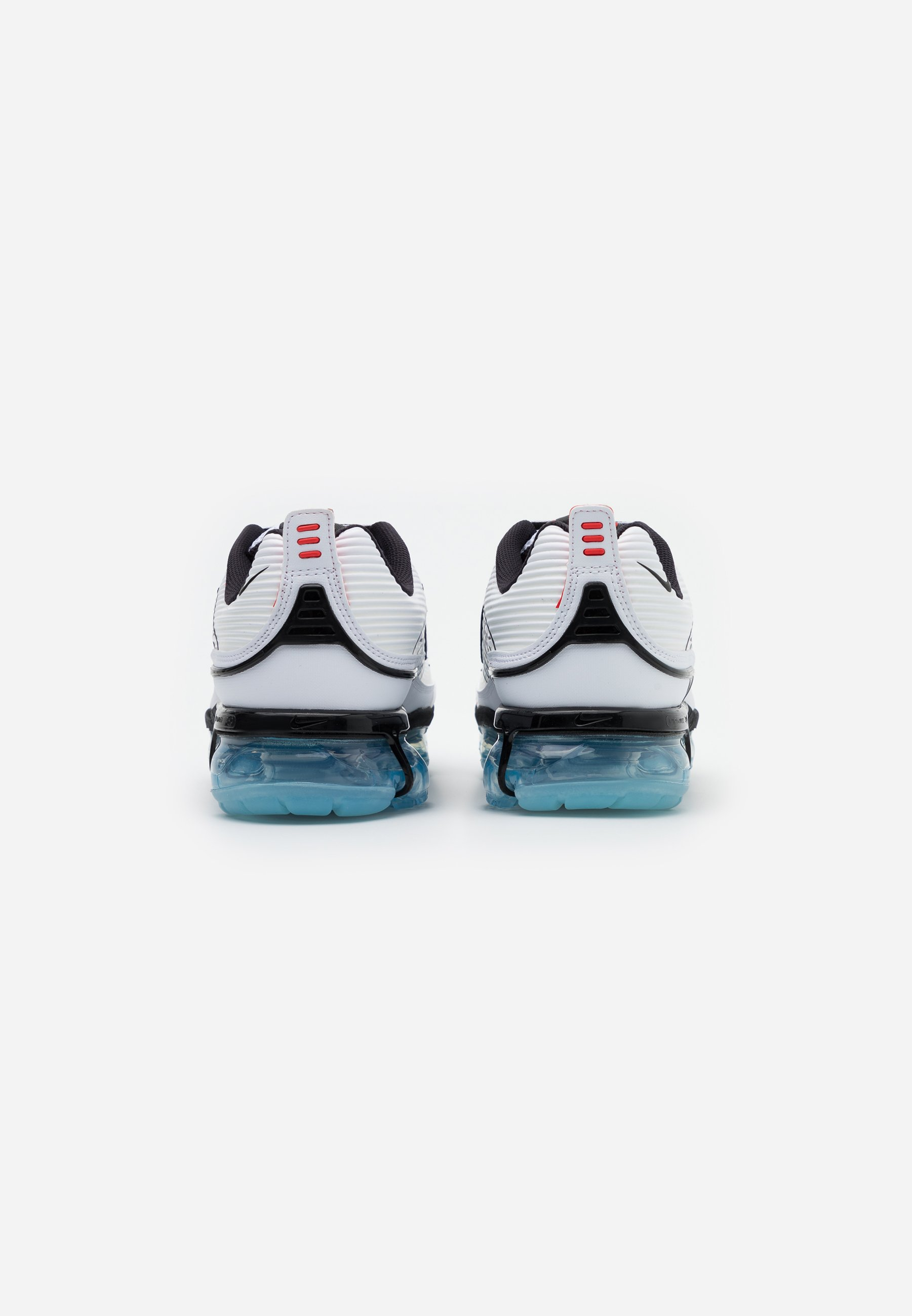 Nike Sportswear Air Vapormax 360 - Sneakersy Niskie White/black/speed Yellow/chile Red/bleached Aqua