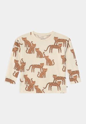 LEO UNISEX - Long sleeved top - light beige