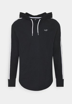 SOLID HOODS - Long sleeved top - black