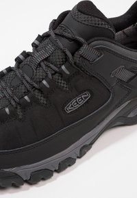 Keen - TARGHEE WP - Hikingskor - black/steel grey - 5