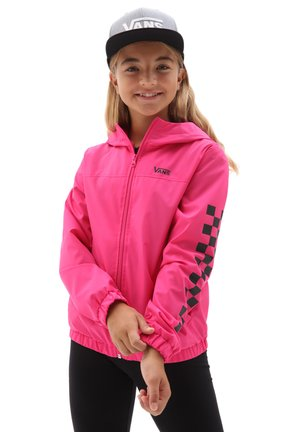 GR GIRLS KASTLE CLASSIC WINDBREAKER - Chaqueta fina - fuchsia purple