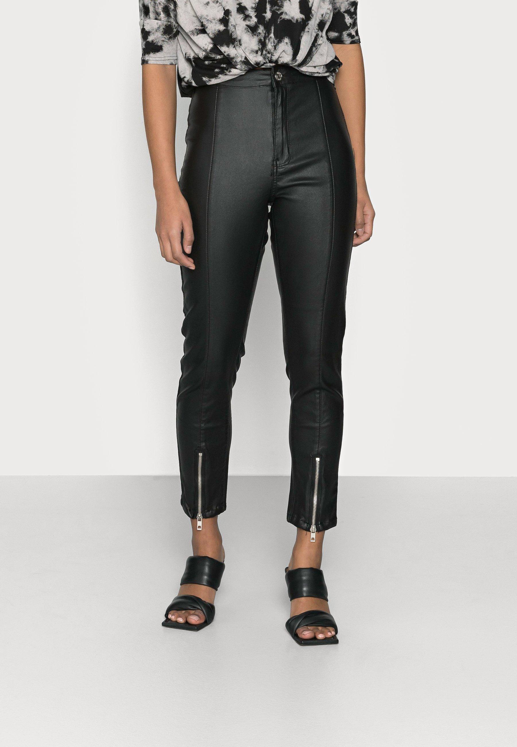 Femme SPLIT VICE WITH ZIPS - Pantalon classique