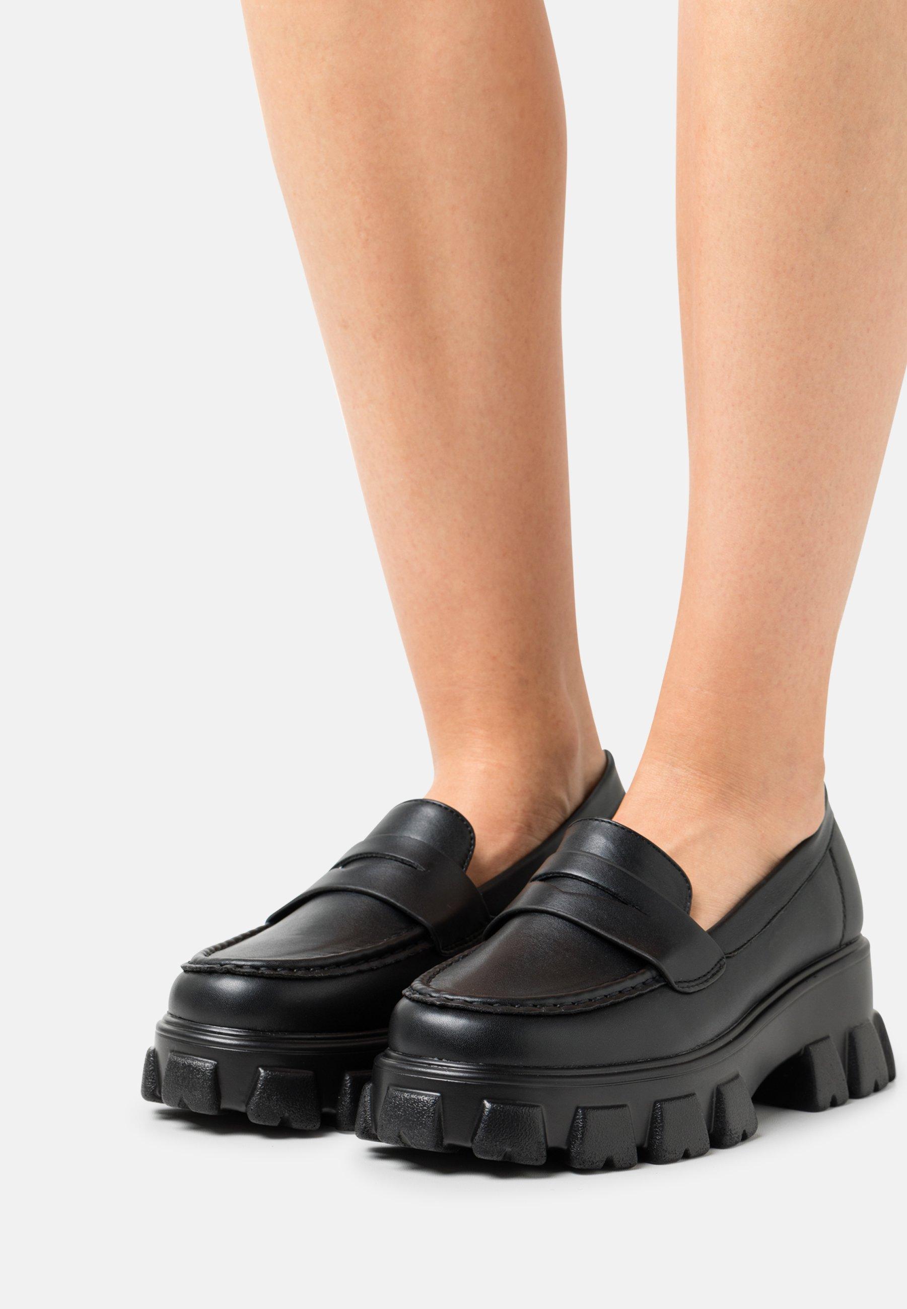 Women Slip-ons - black