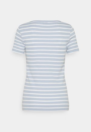 SKINNY OPEN - Print T-shirt - breezy blue