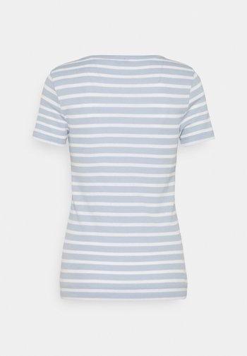 SKINNY OPEN - Print T-shirt - breezy blue