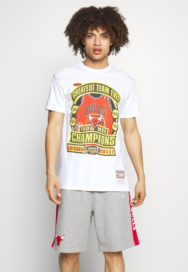 NBA CHICAGO BULLS CHAMPIONS TEE - Article de supporter - white