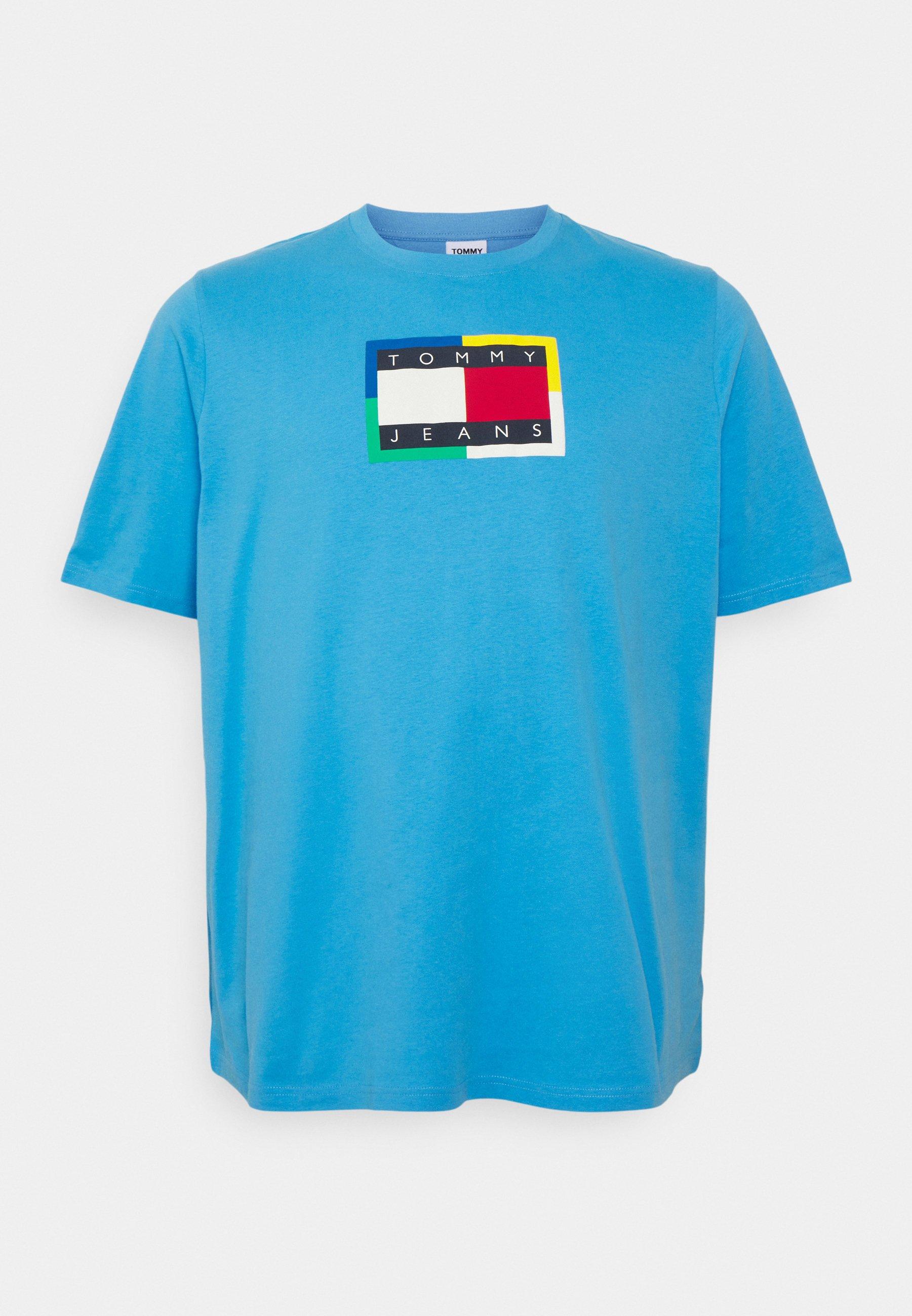 Men PLUS FLAG TEE - Print T-shirt