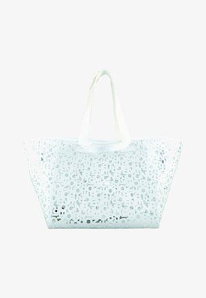 WENGEN ZAHA - Tote bag - white
