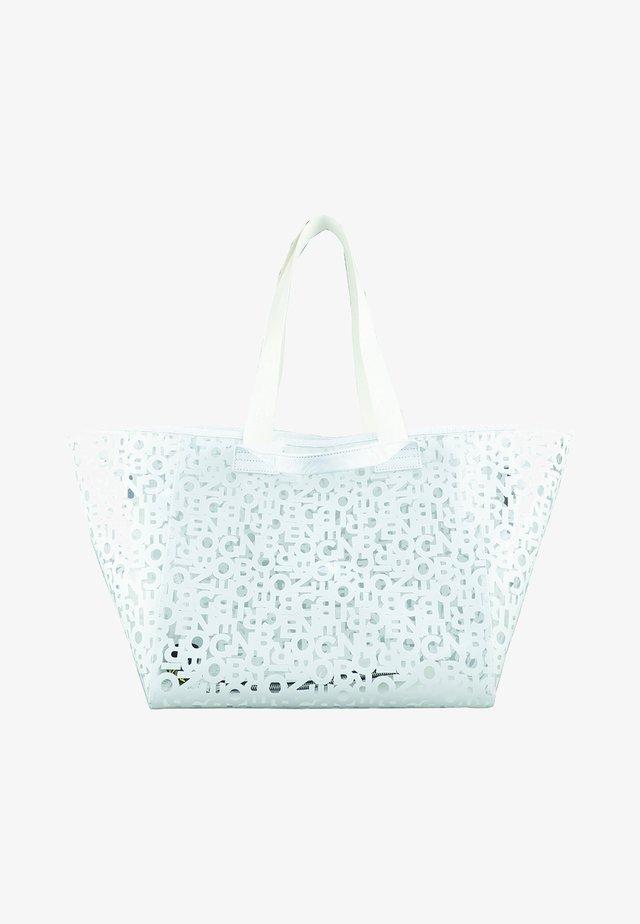 WENGEN ZAHA - Shopping bag - white