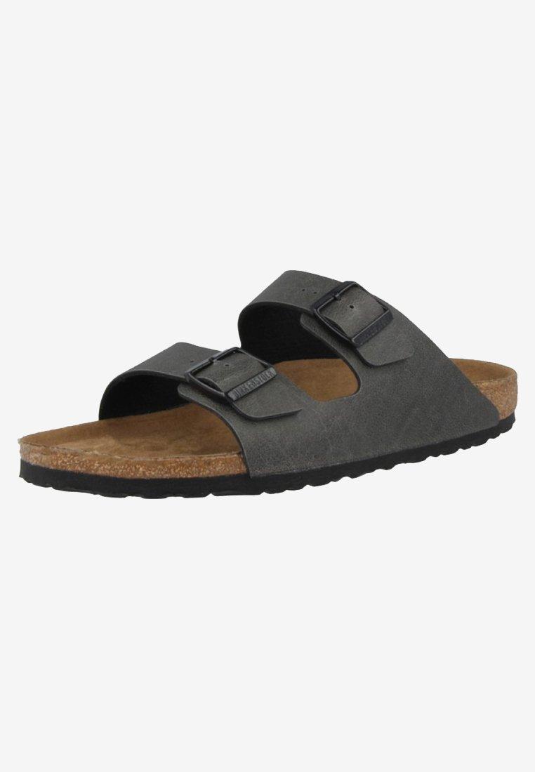 Birkenstock Slip-ins - grey/svart - Herrskor XL8QJ