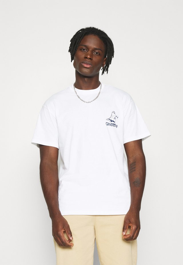 GHOSTLY  - T-shirts print - white