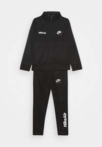 Nike Sportswear - AIR TRACK SUIT SET UNISEX - Trainingspak - black - 0