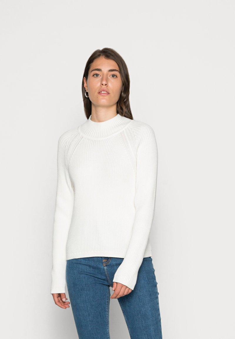 edc by Esprit - MOCKNECK - Jumper - off white