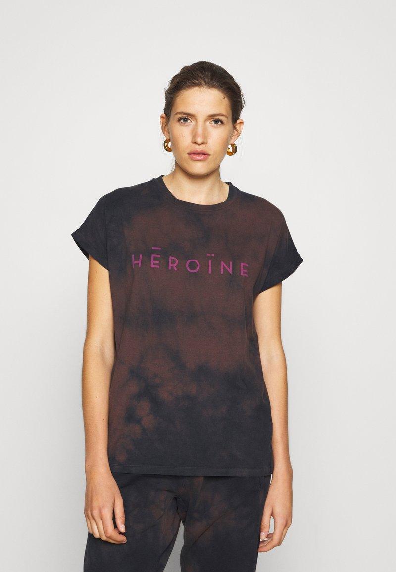 Maison Hēroïne - T-shirt print - midnight