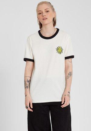 OZZY RINGER TEE - Print T-shirt - star_white