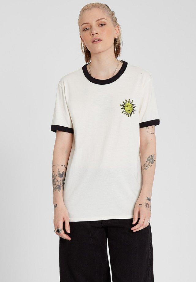 OZZY RINGER TEE - T-shirt imprimé - star_white