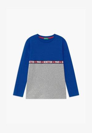 BASIC BOY - Top sdlouhým rukávem - blue/grey