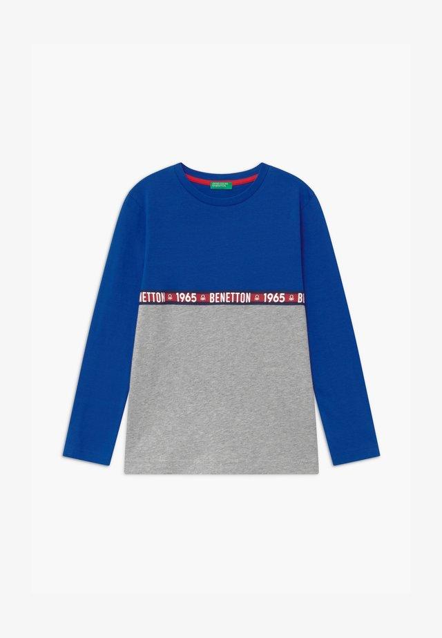 BASIC BOY - T-shirt à manches longues - blue/grey