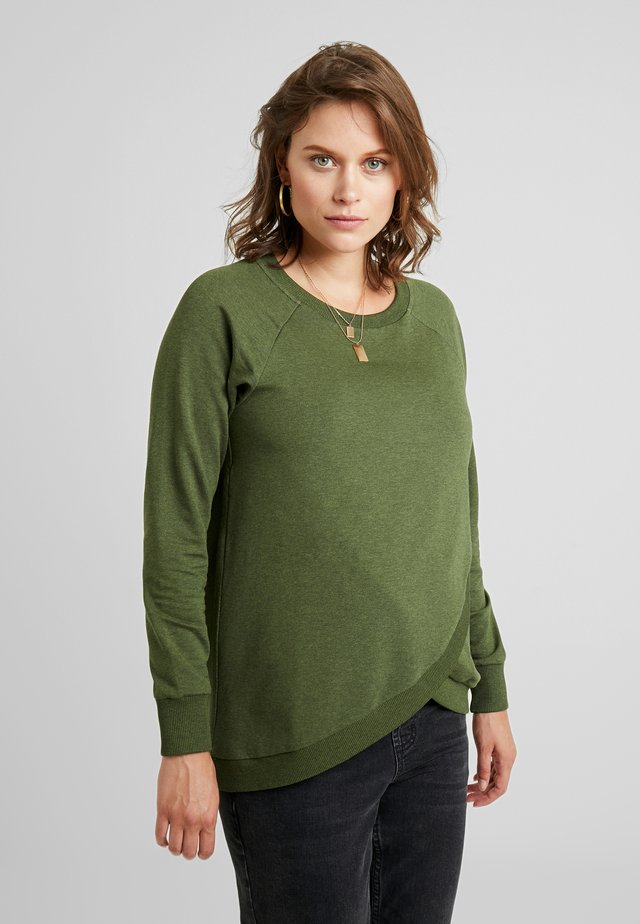 SYBIL - Sweater - olive