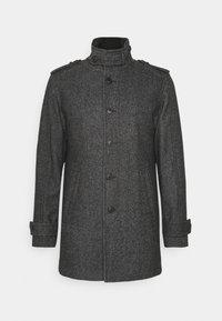SLHNOAH COAT  - Classic coat - dark grey/salt/pepper