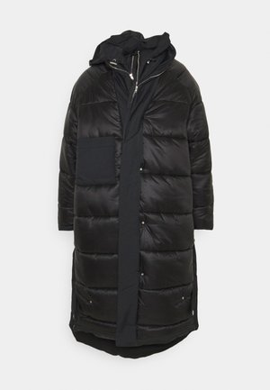 LONG COAT - Cappotto invernale - black