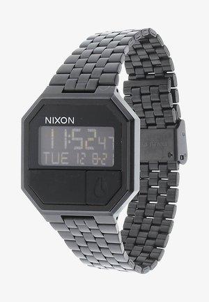 RE-RUN - Digital watch - all black