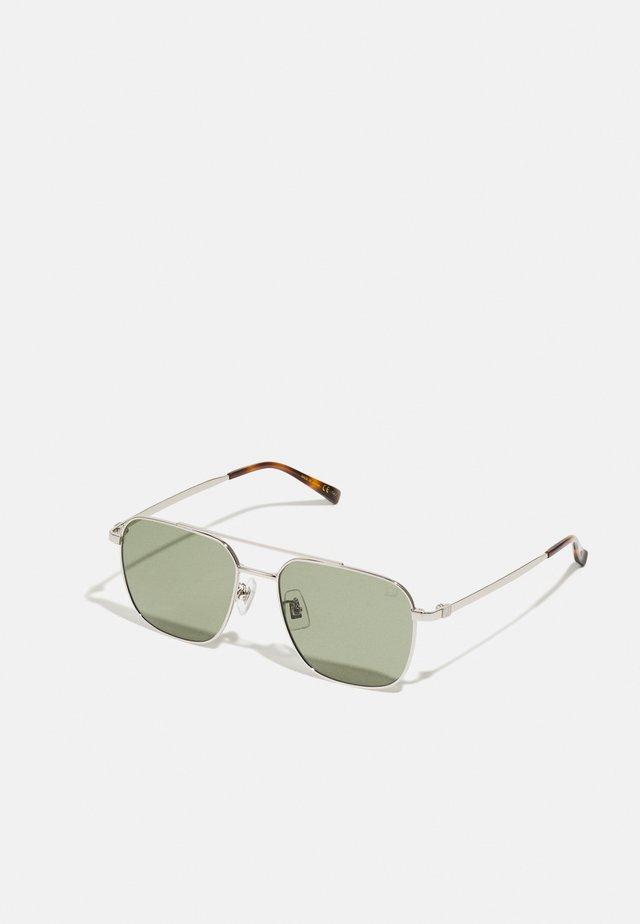 Sunglasses - silver-coloured/green