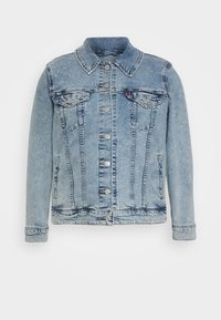 Levi's® Plus - ORIGINAL TRUCKER - Denim jacket - light-blue denim - 4