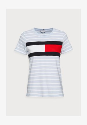 TEE REGULAR FIT FLAG - Print T-shirt - classic brenton/breezy blue