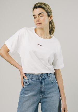 T-shirt - bas - white