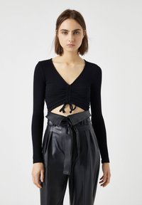 PULL&BEAR - Blouse - black - 0