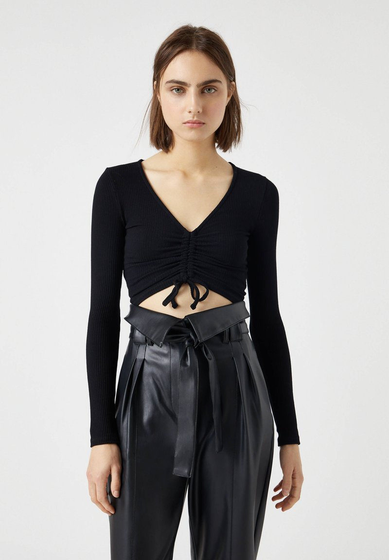 PULL&BEAR - Blouse - black
