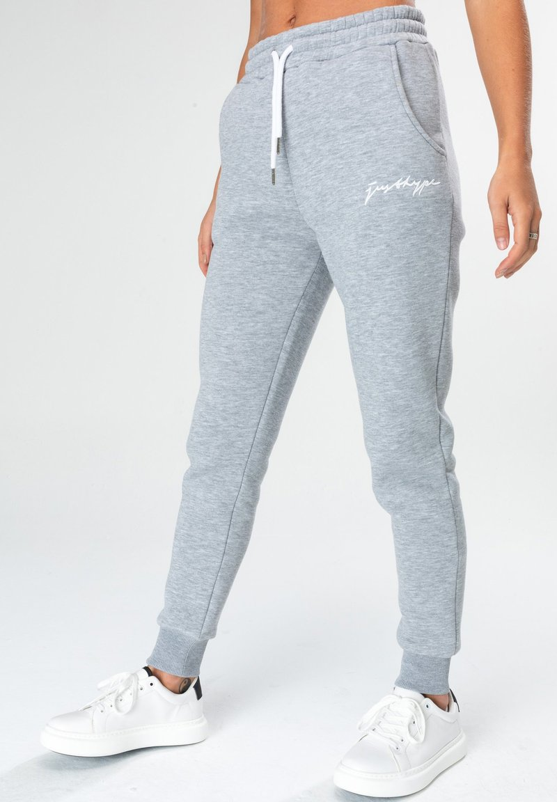 Hype - SCRIPT - Tracksuit bottoms - grey