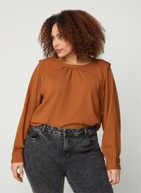 Zizzi - Blouse - brown - 0