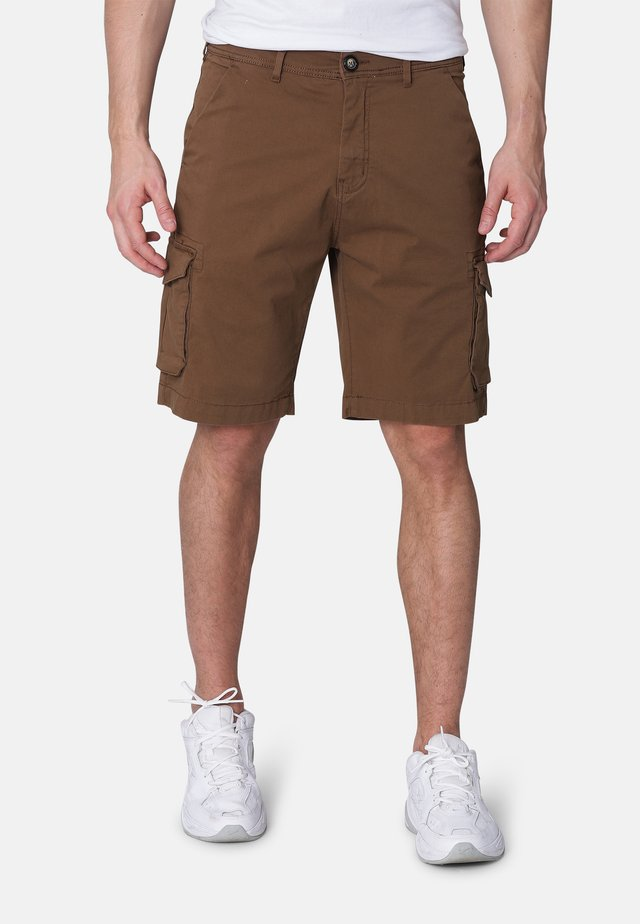 GLENMORE  - Shorts - coffee brown