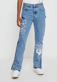 Levi's® - 501® JEANS FOR WOMEN - Jeans a sigaretta - luxor indigo - 0