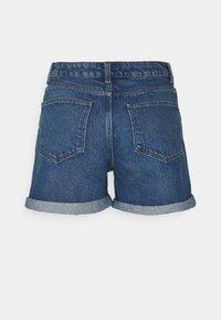 Noisy May Petite - NMSMILEY SHORTS PETIT - Shorts di jeans - medium blue denim - 1