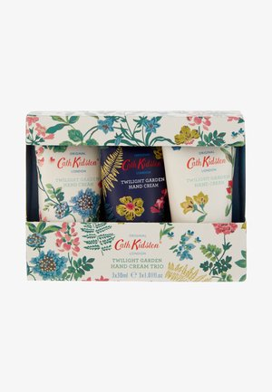 TWILIGHT GARDEN HAND CREAM TRIO - Bath and body set - -