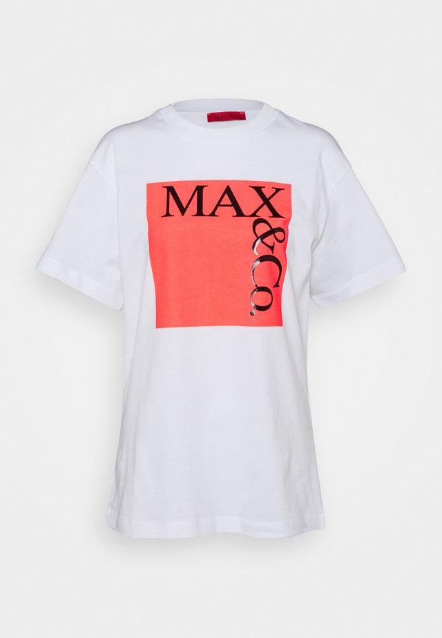 T-shirt imprimé - rose pink pattern