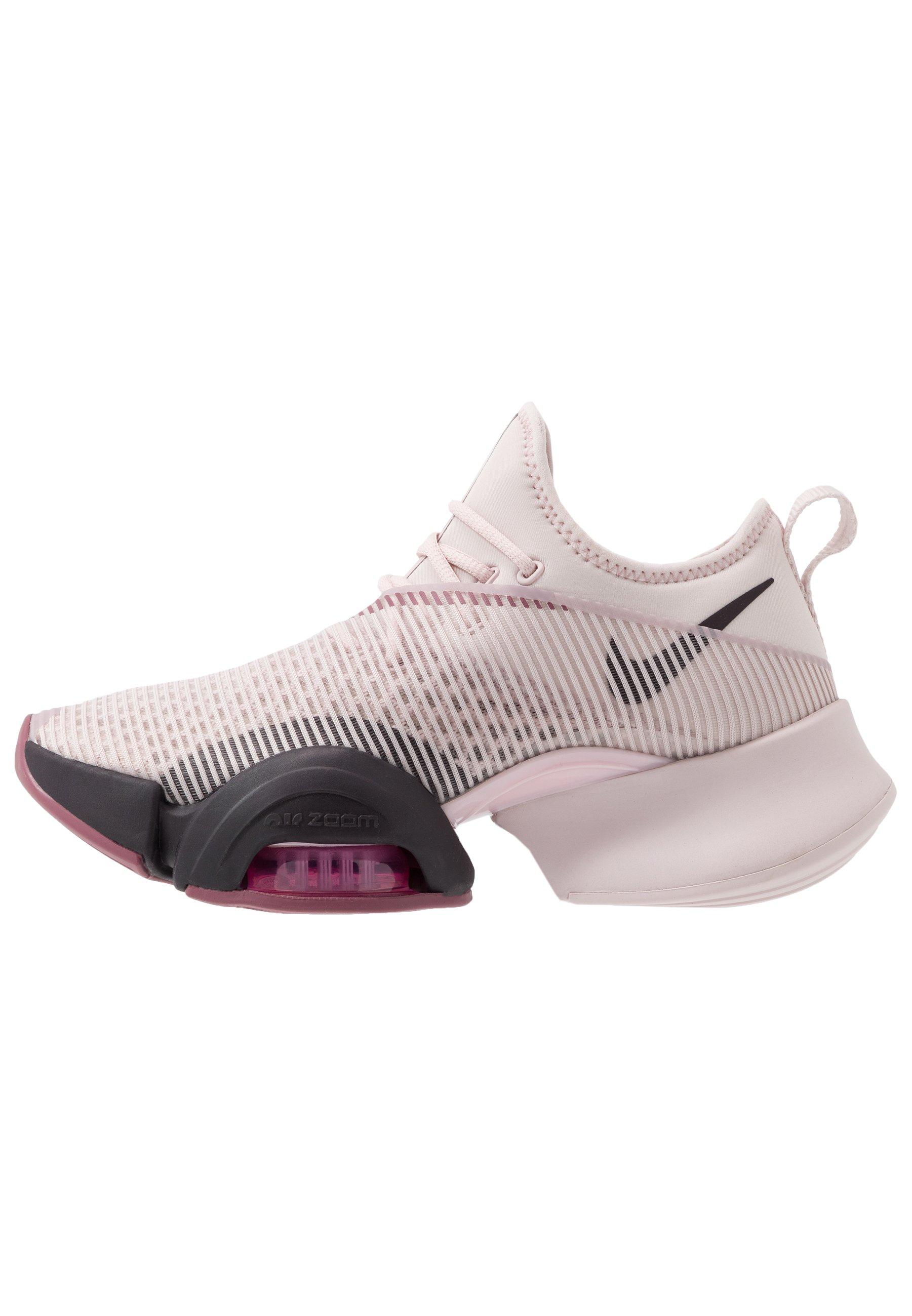 AIR ZOOM SUPERREP - Chaussures d'entraînement et de fitness - barely  rose/burgundy ash/shadowberry/cosmic fuchsia